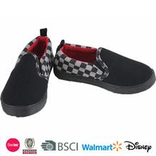 boy's buckle strap canvas shoes