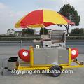 Shanghai yiying yy-hs230 2014 beliebten 7- hot dog grill roller elektro-hot-dog grill/Grill ausrüstung für restaurant/hot dog cart