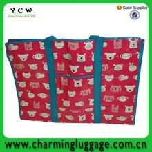 china factory supply fasional pp laminated extra large shopping bag 2014