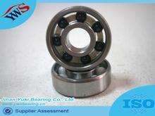 608 chrome ring si3n4 ball white nylon cage hybrid ceramic bearing