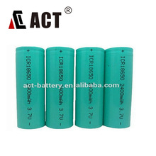 ICR18650 rechargeable battery Cylindrical Lithium Battery