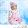customized silicone doll, lovely baby doll, cheap silicone doll