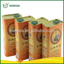 Kunhua 100% Edible Flaxseed Oil Cooking Oil