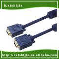 Personalizado 15Pin vga resolução do cabo para Monitor de computador