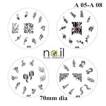 A05-A08 nail art stamping k