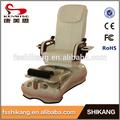 de cuero de la tienda nail salon utilizados para silla de pedicura