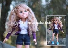 2014 Plastic Simulation Doll ,PVC Children Toys , Whole China