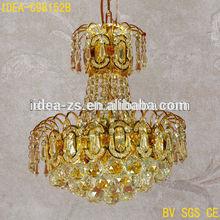 Hot selling fashion ring led crystal pendant lamp\/ring led ceiling lamp