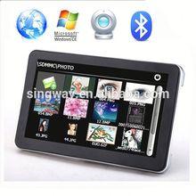 2014 hot sell av-in handheld portable navigation CE FCC ROHS