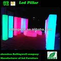 led modern plastic furniture/acrylic wedding columns/ roman columns