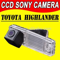 manufactory car reverse camera for Sony CCD auto Toyota Highlande GPS autoradio navigation backup parking night version rear buy