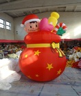 2014 hot selling christmas decoration inflatable christmas doll