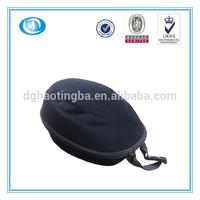4804D Black Hard Bicycle Helmet Case with Mesh pocket