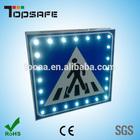 Solar led traffic symbols