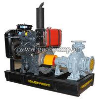 Yanmar Diesel Engine Irrigation Water Pump, High Flow Diesel Water Pump Set, Yanmar Diesel Engine Water Pump
