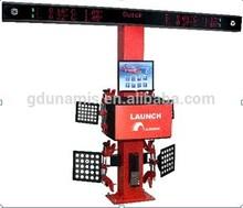 Launch Newest model X712S 3D Wheel aligner The newest 3D image identify measurement technology