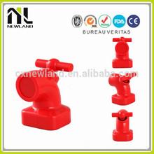 Love Unique Faucet tap shape magnetic decorative wall plastic key holder unique gift