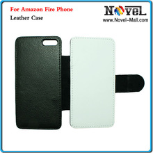 2014 New Arrival Blank Sublimation Leather Case For Amazon Fire