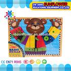 Preschool Science Toys Bear Shape Living Skills training Multi-function Educational toys Set