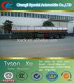 50 toneladas, 3 ejes de aleación de aluminio, muriatico/clorhídrico/sulphuric tanque semi- remolque para la venta
