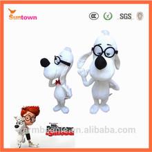 2014 new cartoon movie mr peabody and sherman stuff animal plush dog toy