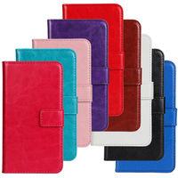 Crazy Horse Skin PU Leather Case Cover For Nokia Lumia 520 Case Leather