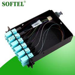 [Skype: softel009] mpo series 12 cores mpo box, mpo to lc or mpo to sc adapter, fiber optical mpo box