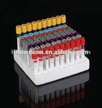 Vuoto tubo di raccolta sangue/gel& coagulo tubo attivatore
