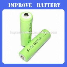 1.2V 2500mAh AA Rechargeable Nimh battery