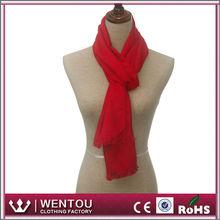 Fashion Winter Red Tassels Scarf Pashmina