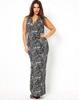 Hot Sale Wholesale Plus Size Maxi Dress For Women's Promotion