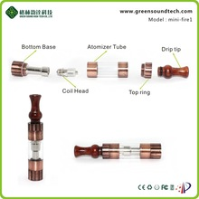 2014 wooden colorful mini firel vaporizer pen for e cigarette