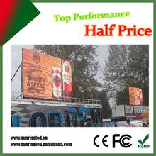 Waterproof long lifespan p16 outdoor LED display board/ screen/ panel wholesale