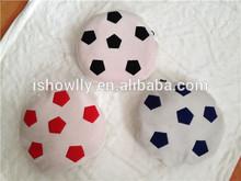 super soft touch Kid's fleece portable football shape blanket