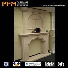 hot sale natural well polished China leading supplier!!! trimmed outside edges fireplace