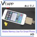 vtapp 2014 de alta calidad nueva y 64g usb flash drive para la tableta con cerradura de tarjeta de memoria