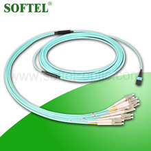 [Skype: softel009] 12 core mpo to lc duplex cable, available divider type or join type LC duplex