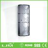 china imports furniture dark gray lacquer open shelf kitchen cabinet door design