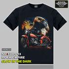 TDH093 BIKE T-SHIRTS MOTORCYCLE T-SHIRTS ROCK BIKE T-SHIRT ANIMAL T SHIRT ANIMAL HARLEY T SHIRT