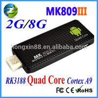 MK809III rk3188 quad core 1.8g nvidia ion mini pc
