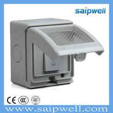 SAIPWELL/SAIP Hot Sale Electrical IP55 Push Button Door Bell Waterproof Micro Switch