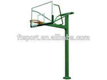 Outdoor Fixed Height Basketball Pole(glass backboard--3.05m)