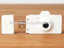new product camera shaped usb flash drive, fashion Camera usb memory disk, free sample 1gb usb pendrive