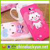 Beautiful Customized Design silicon phone cover 3d mobile phone cover for samsung s5