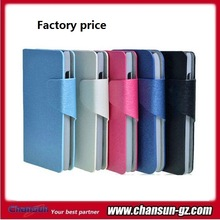 phone book flip leather case for lg l80