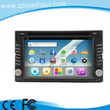 Android 2 Din Multimedia Head Units with WiFi 3G iPod BT SD