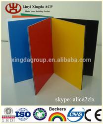 Decorative Wall Alucobond ACP PVDF Coating Aluminum Plastic Composite Panels