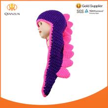 New Lovely Baby Cartoon shape Handmade Woolen crocheted Children's hats