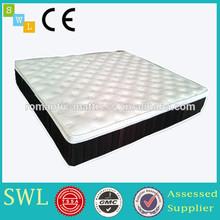 luxurious high resilient foam pocket spring hotel mattress from mattress manufacturer W1410