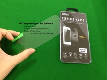 Factory Price Anti Shock screen protective film 9H tempered glass screen protector for IPhone 6 Ultra protective